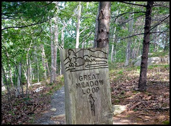 02b - Great Meadow Trail - Trail Sign