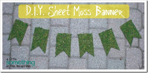 Sheet Moss Banner WM