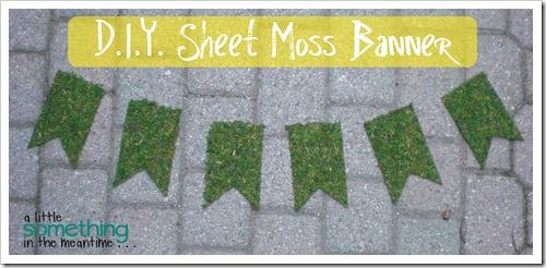 Sheet Moss Banner WM