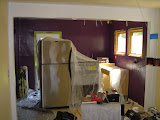 Purple kitchen!