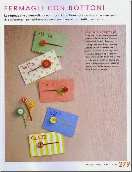 Martha Stewart Art & Craft per i tuoi bambini - Giunti - mollette bottoni