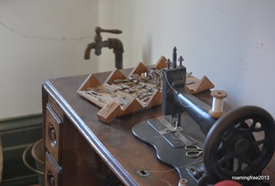 They even had a sewing room!