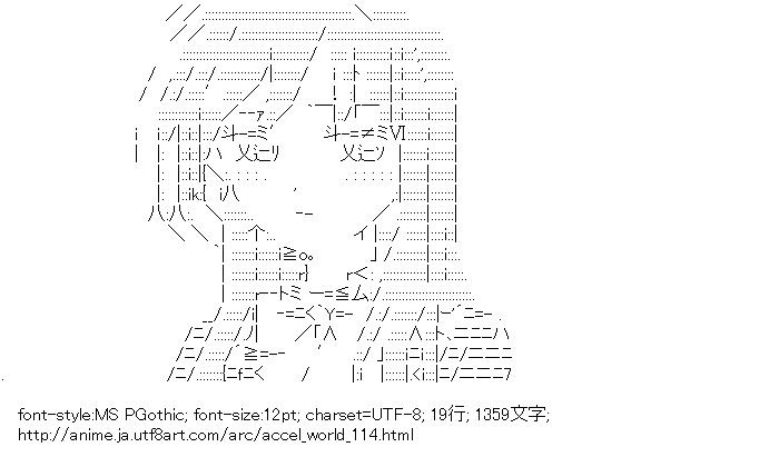 アクセル・ワールド,黒雪姫