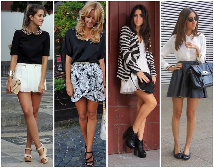 moda preto e branco looks - como usar 02