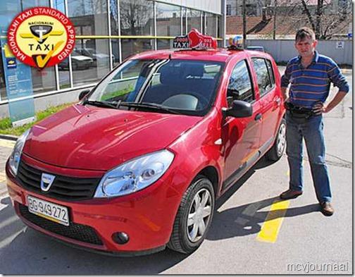 Dacia Sandero Taxi 02