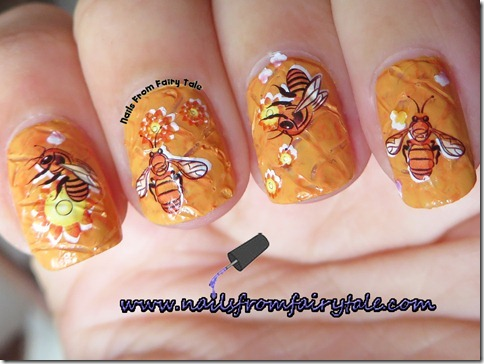 busy bee manicure