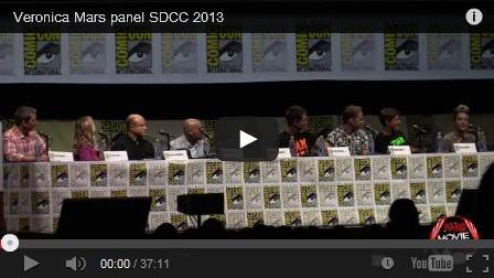Veronica Mars Panel, Comic Con