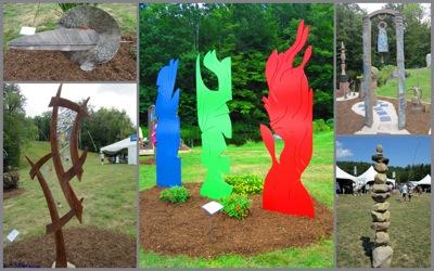 NH outdoor sculptures