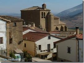 Iglesia y caserio - Añorbe