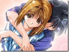 Anime Couples, embrace_2 - FancyWall