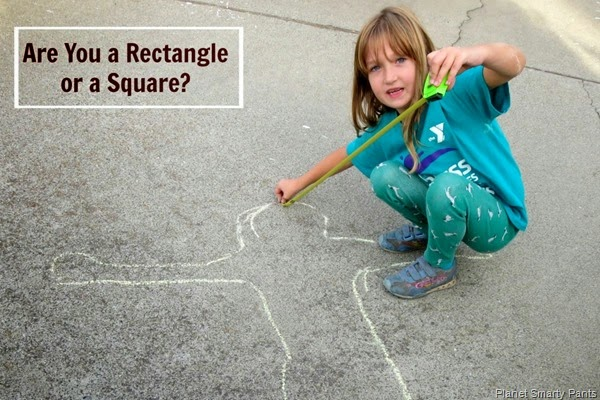 Math Play - Rectangle or Square