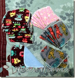 Cloth Diapering - Wipes