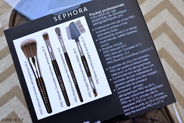 Sephora Pocket Professionals Mini Pro Airbrush Set Review (2)