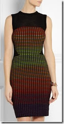 M Missoni Neon Stretch Knit Dress