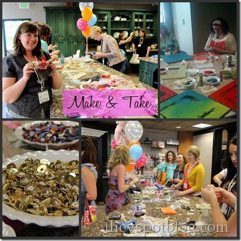 Make & Take, poppyseed projects