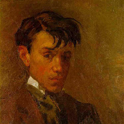 Picasso, Self portrait - young.jpg