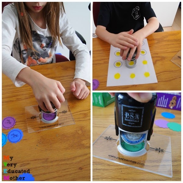Stampingcollage  #GirlScoutCookies #stampingprojects