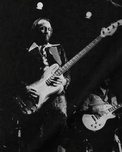 Maurice Playing Bass