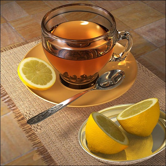 чай-с-лимоном