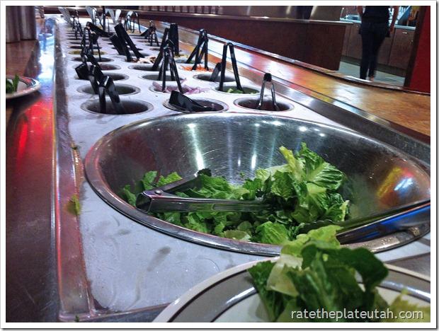The Pizza Factory Salad Bar
