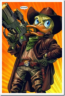 Howard the Duck in Baddazz mode !