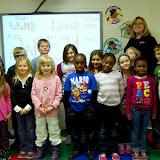 WBFJ Cici's Pizza Pledge - Salem Baptist Christian School - Miss Williamson's 1st Grade Class - Wins