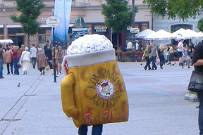 Giant beer suit!