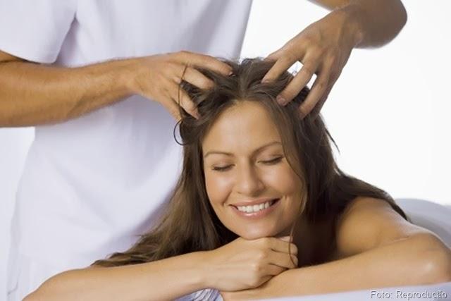 Pra Inspirar o fim de semana : Massagem Capilar.