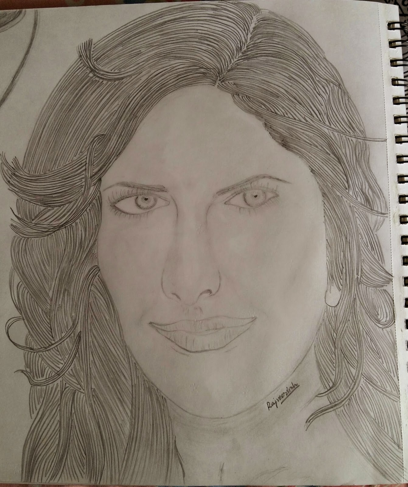 Katrina kaif pencil drawing portraits