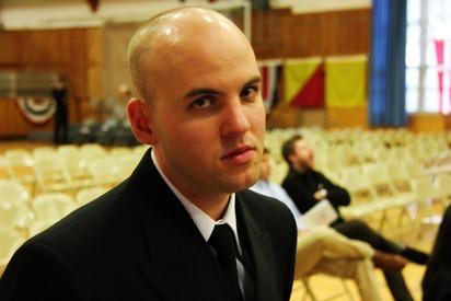 Mark Navy OCS Grad 2