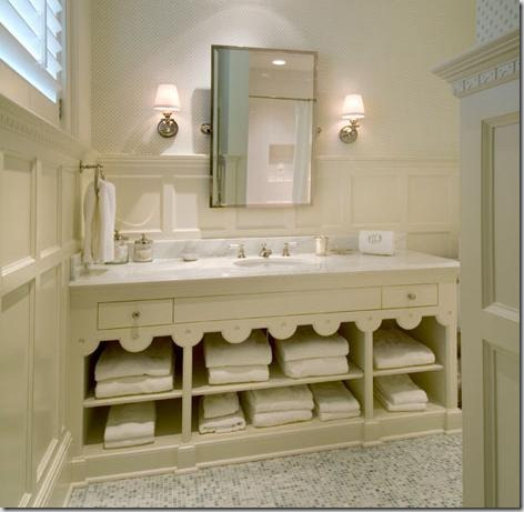 Things that inspire hand towels where do you put them for Where to put towel bar in small bathroom