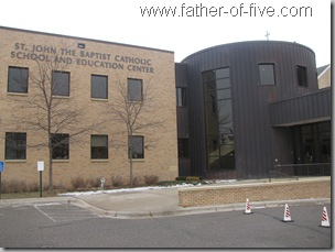 St. John the Baptist School - Jordan, Mn - New School