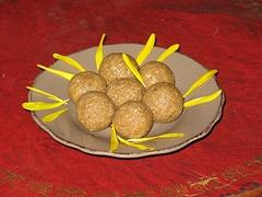 truffes au sésame