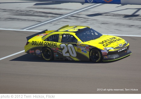 'Joey Logano #20, LVMS' photo (c) 2012, Terri  Hickox - license: http://creativecommons.org/licenses/by-nd/2.0/