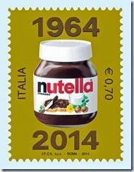 Francobolo celebrativo 50 anni nutella