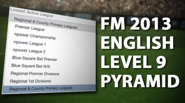 English level 9 pyramid FM 2013