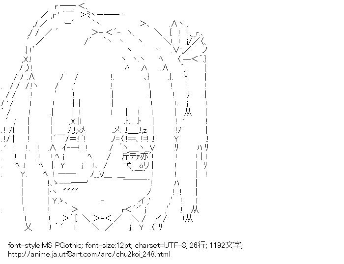 [AA]小鳥遊六花 (中二病でも恋がしたい!)