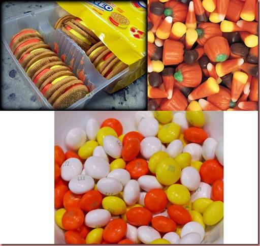 candy corn items