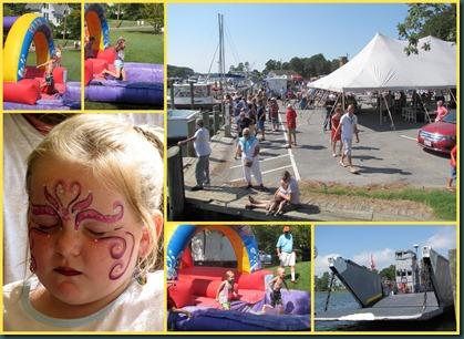 harborfest collage