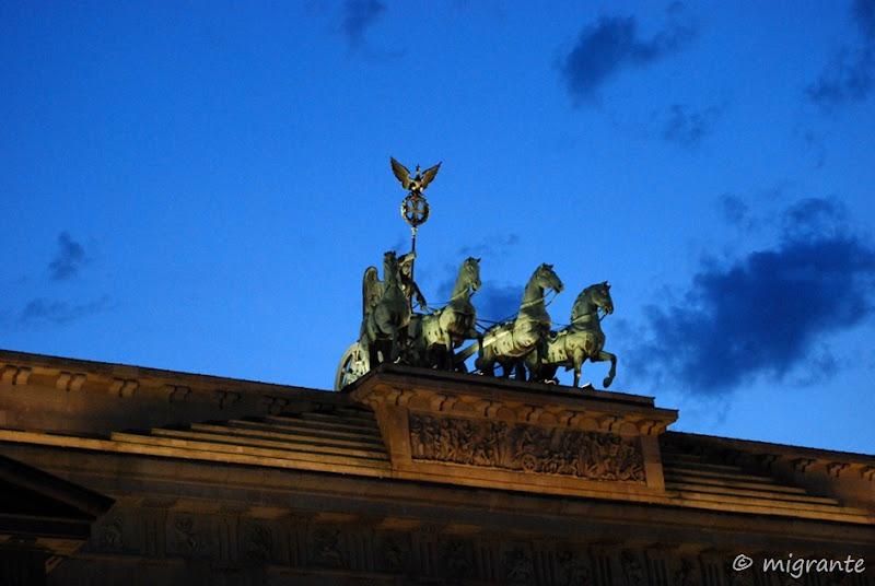 puerta de brandenburgo - cuadriga - berlin