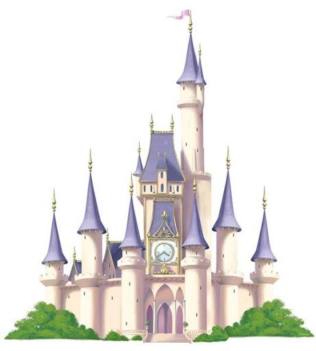 Castillo de cenicienta dibujo animado - Imagui