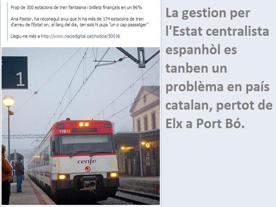 RENFE gestion en Catalonha