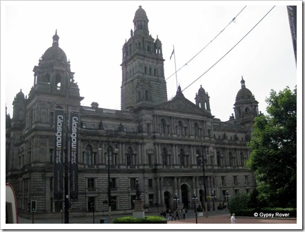 City Chambers, George's square, Glasgow.