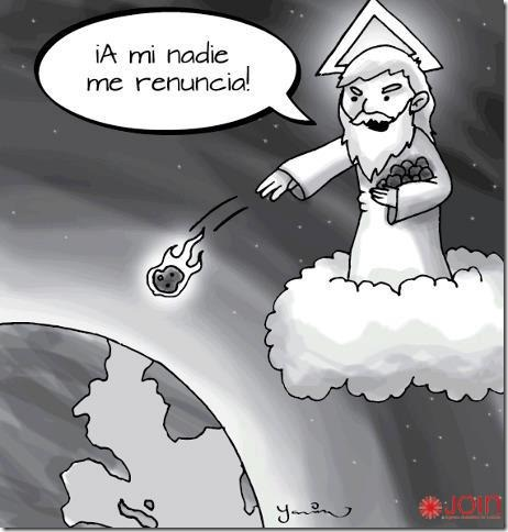 humor renuncia papa