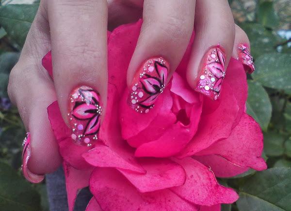 DSC04346 1 Flower Nail Art Designs