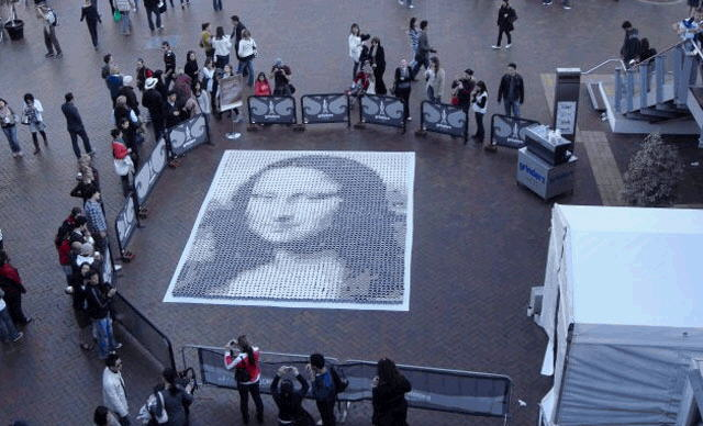 MONALISA Painting Sydney(Australia) is not painting , then what?