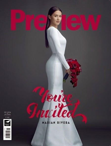 Marian Rivera - Preview Dec 2014-Jan 2015