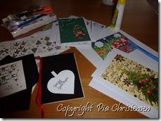 Hjemmelavede julekort