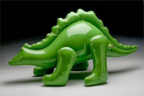 Bonecos infláveis de argila 02