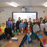 WBFJ Cici's Pizza Pledge - Cash Elementary - Mr. Byrum's 5th Grade Class - Kernersville - 1-9-13